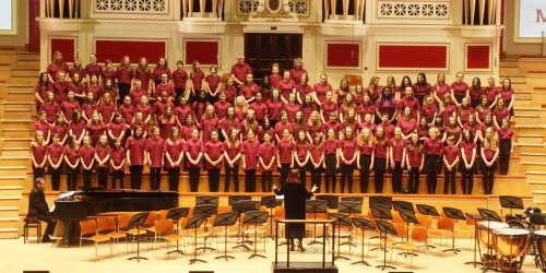 Massed Choir Performance Opportunities for KS2 pupils
