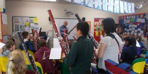 LSMS Bassoon Initiative feature in Music Teacher Magazine
