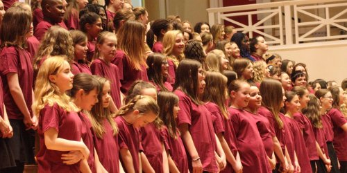 The Leicester-Shire Schools Choir Competition!
