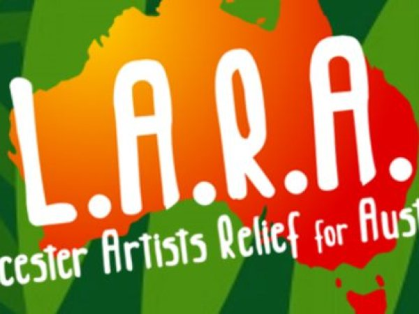 L.A.R.A - Leicester Artists Relief for Australia - multi-venue all-day music festival